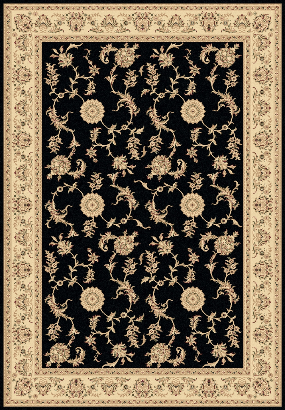 Black 58017 090 Legacy Rug By Dynamic