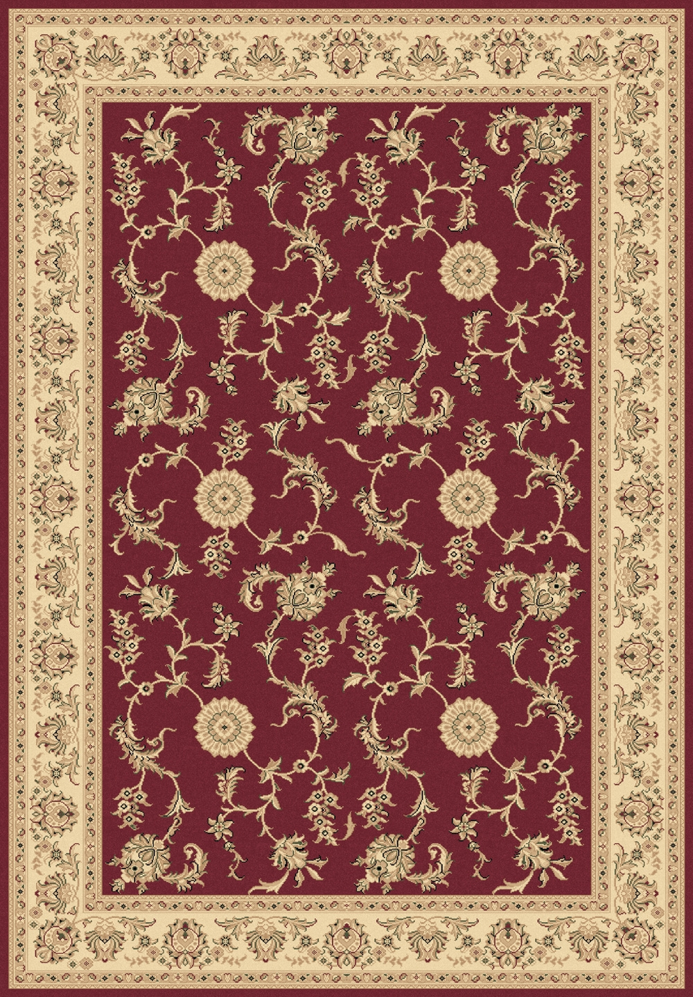Red 58017 330 Legacy Rug By Dynamic