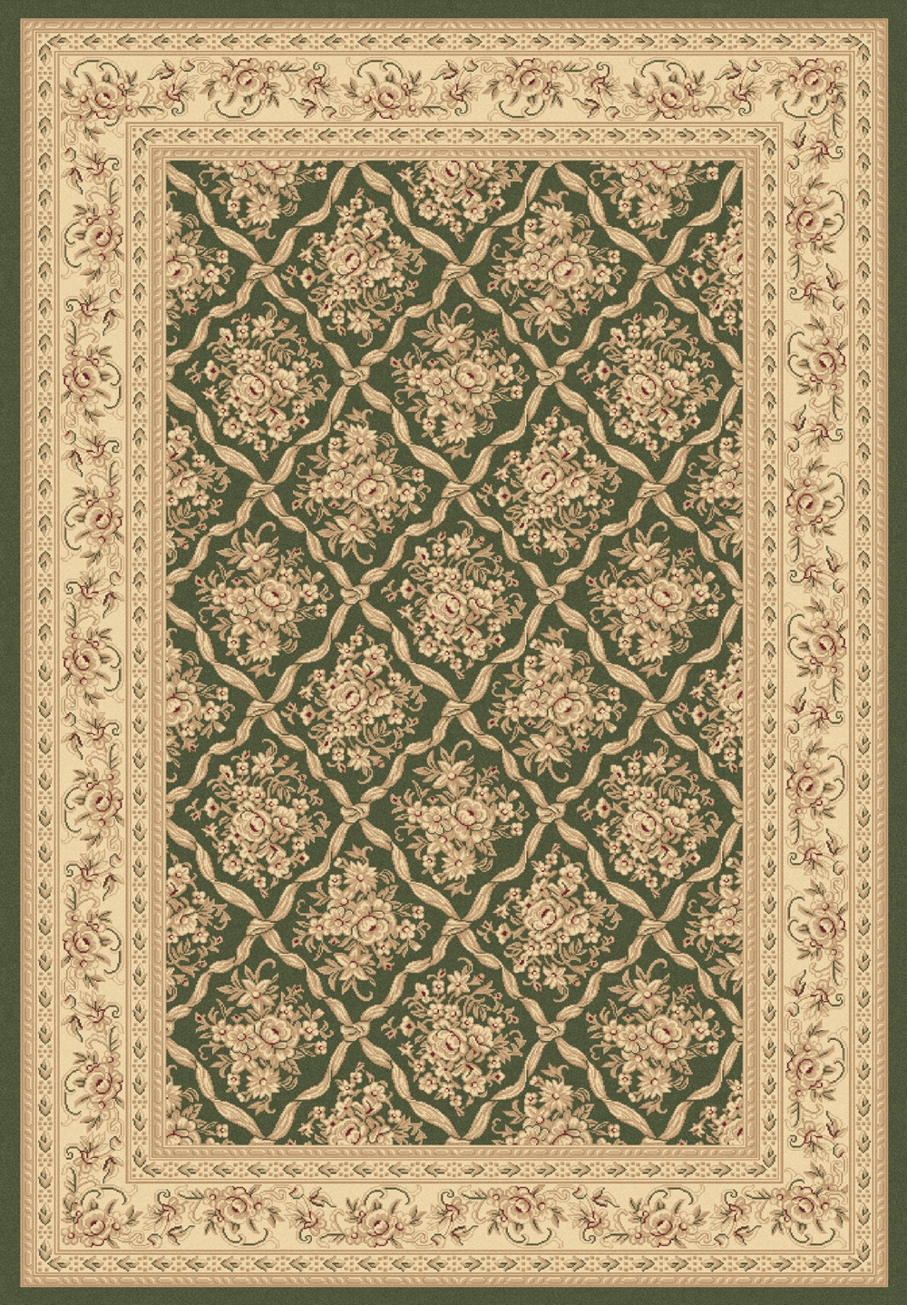 Green 58018 440 Legacy Rug By Dynamic