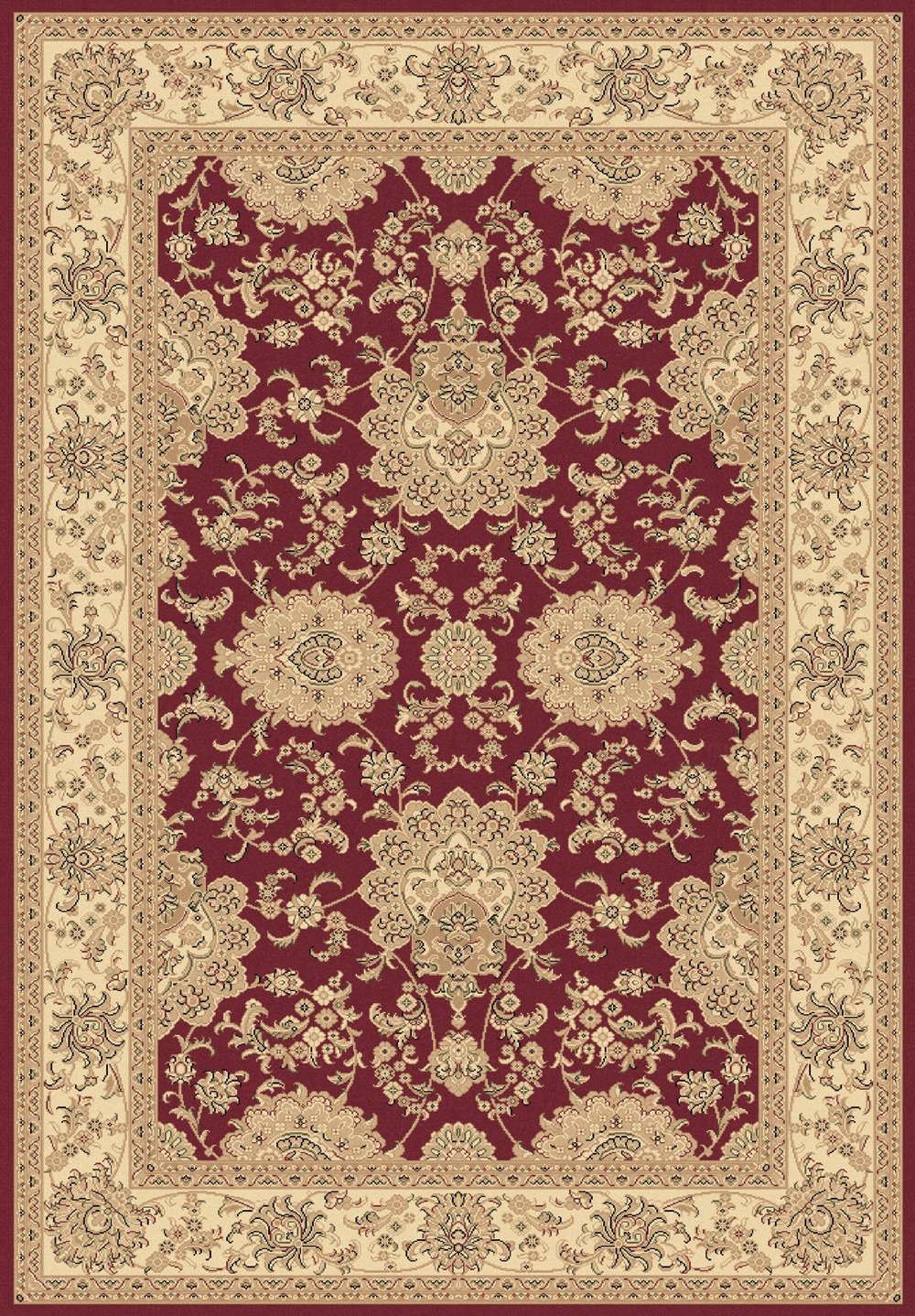 Red 58019 330 Legacy Rug By Dynamic