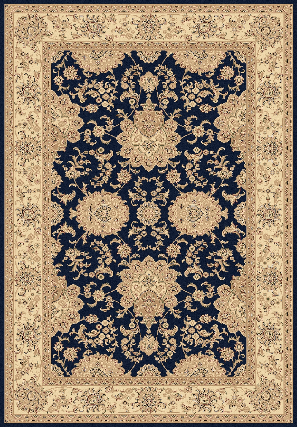 Navy 58019 530 Legacy Rug By Dynamic