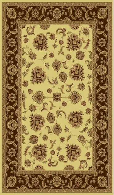 Cream Brown 58020 160 Legacy Rug By Dynamic