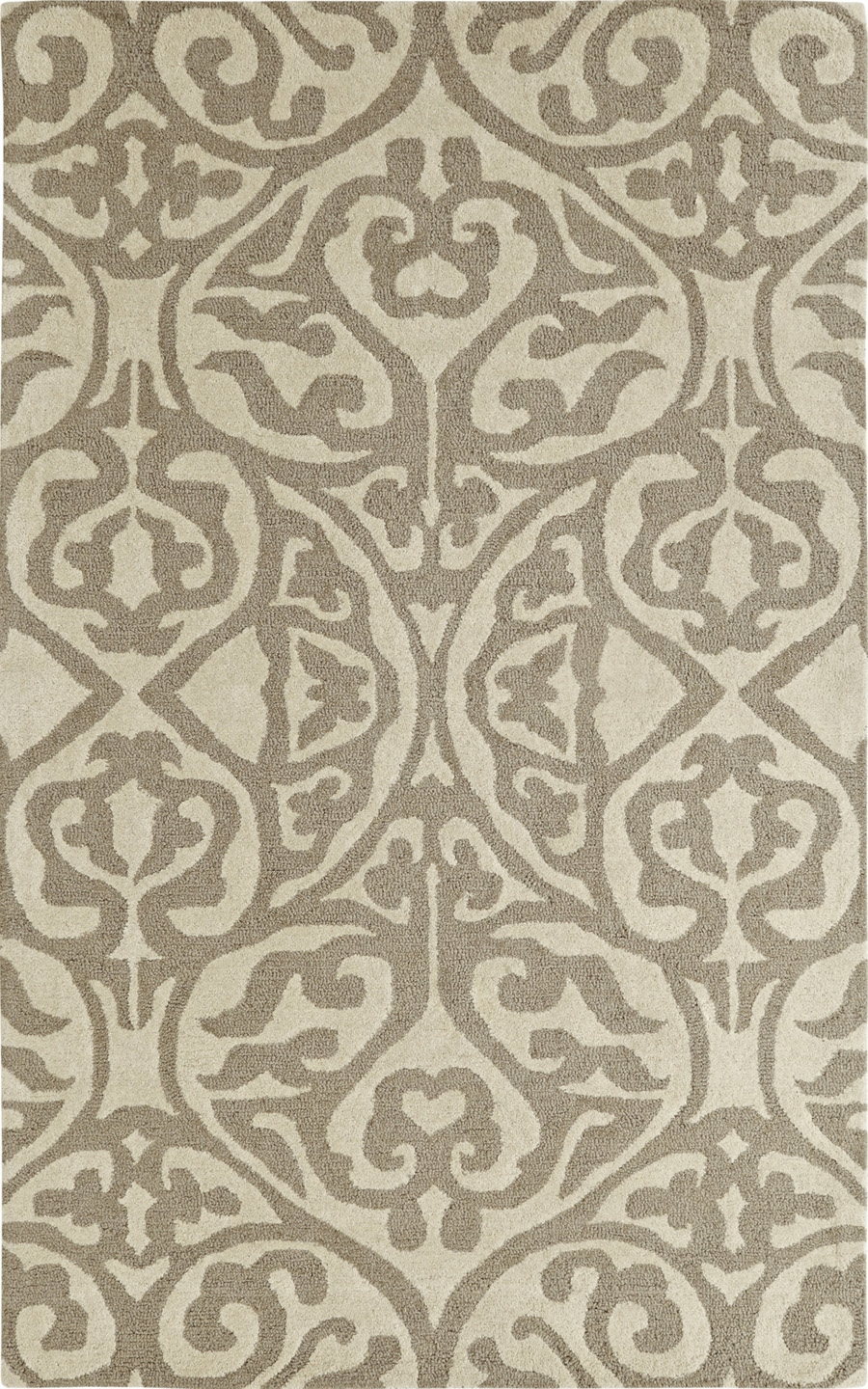 Dynamic Palace 5545 919 Silver Ivory Rug