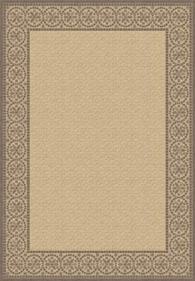 Natural Brown 2745 3001 Piazza Outdoor Rug By Dynamic