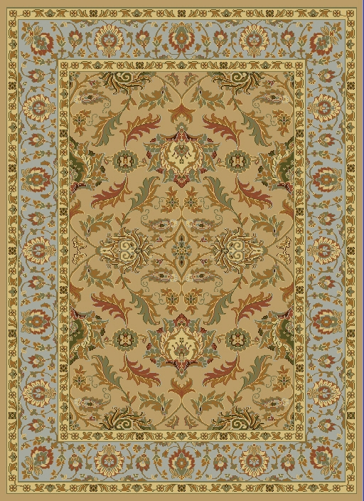 Dynamic Yazd 1744 100 Light Beige Rug