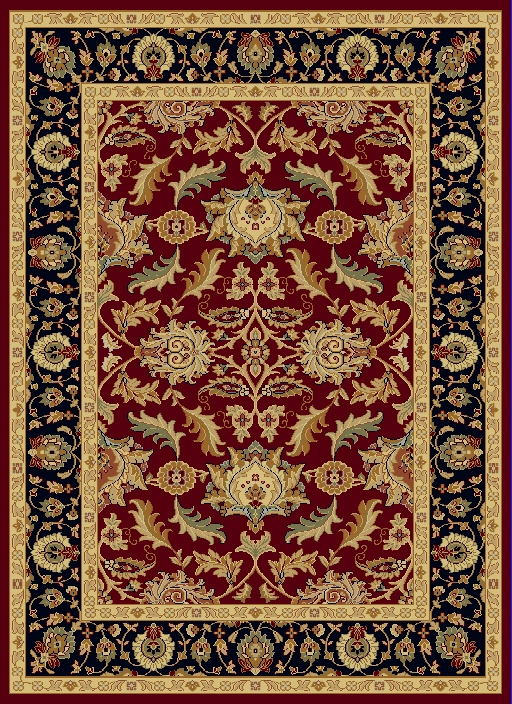 Dynamic Yazd 1744 310 Red Rug