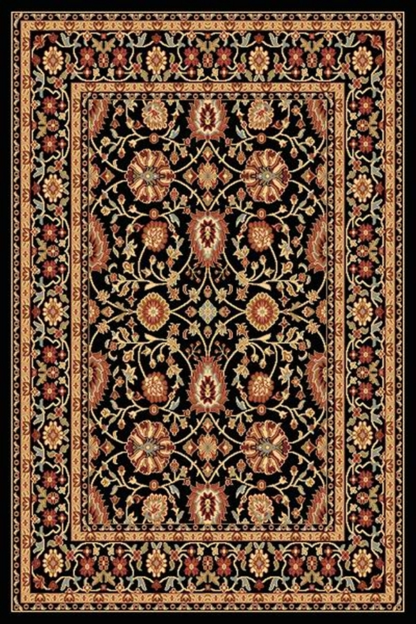 Black 2803 090 Yazd Rug By Dynamic