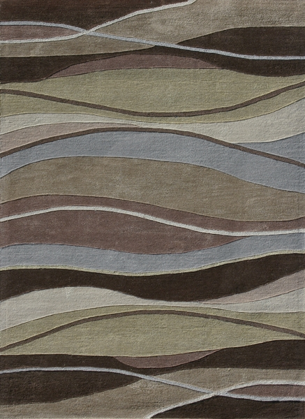 Grant GR-06 Olive Brown Rug by Loloi