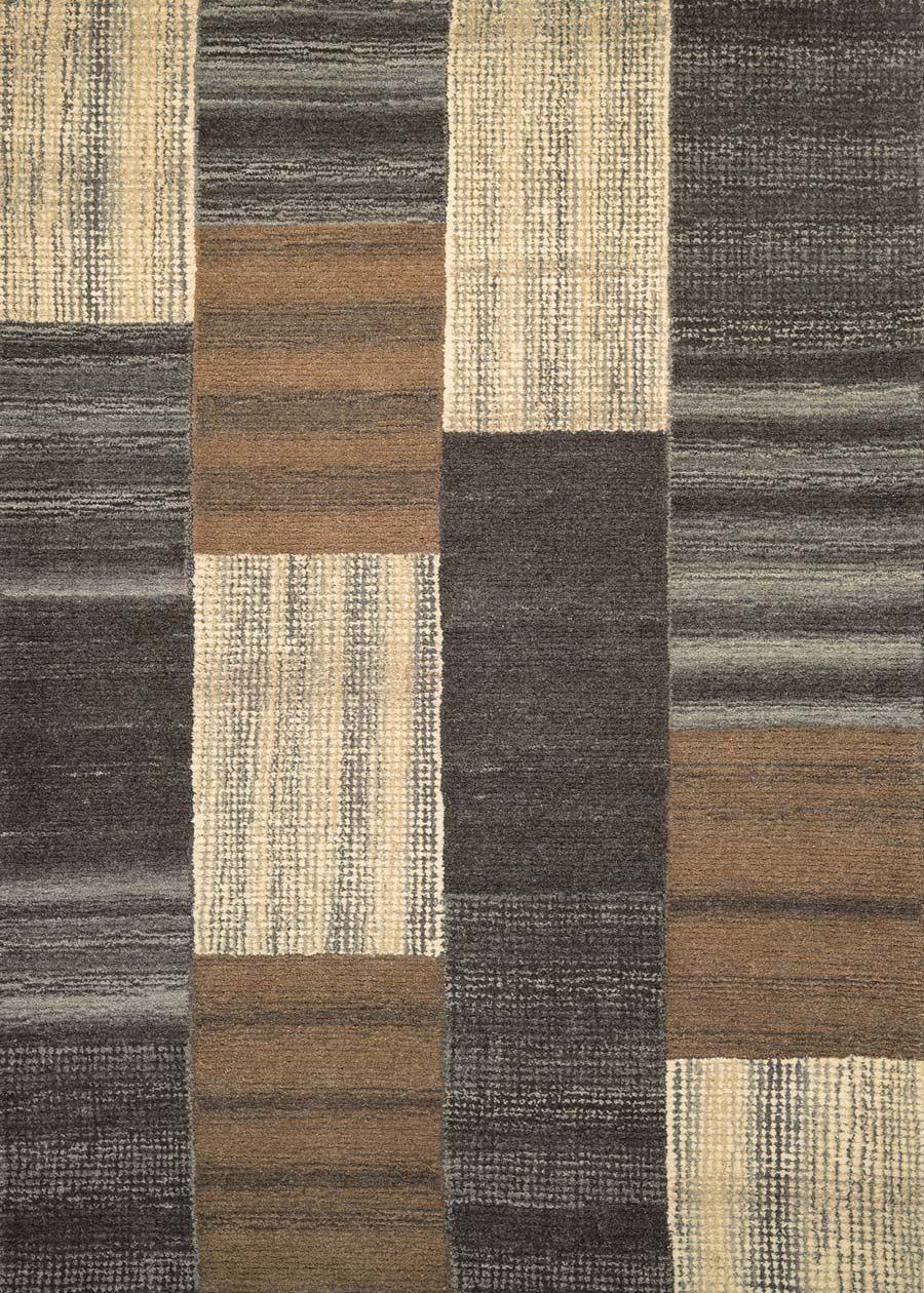 Couristan Super Indo Natural 2163/0001 Luster Brown Rug