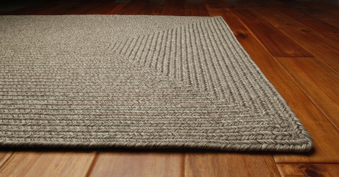 Slate Outdurable Outdoor Rug by Homespice