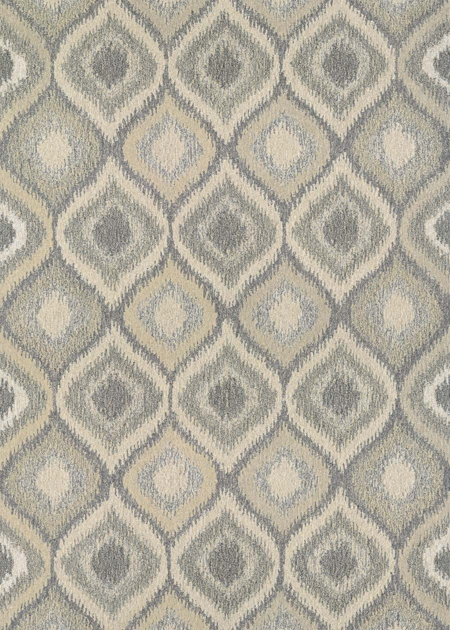Couristan Super Indo Natural Ridley 2167/8069 Cream Brown Rug