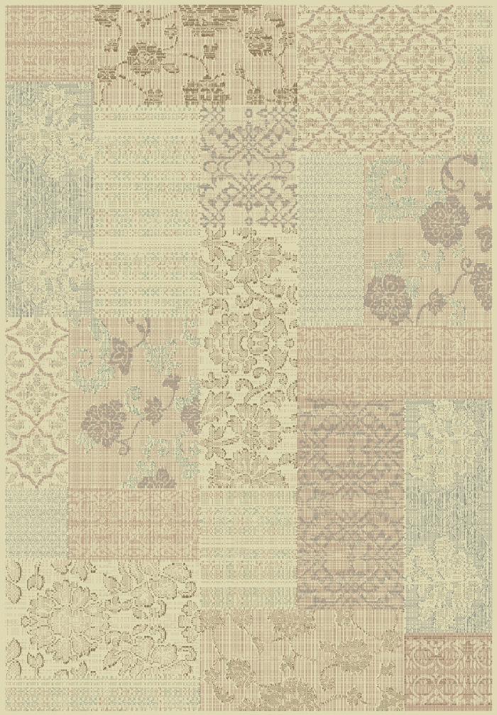 Imperial 621 100 Cream Multi Rug by Dynamic