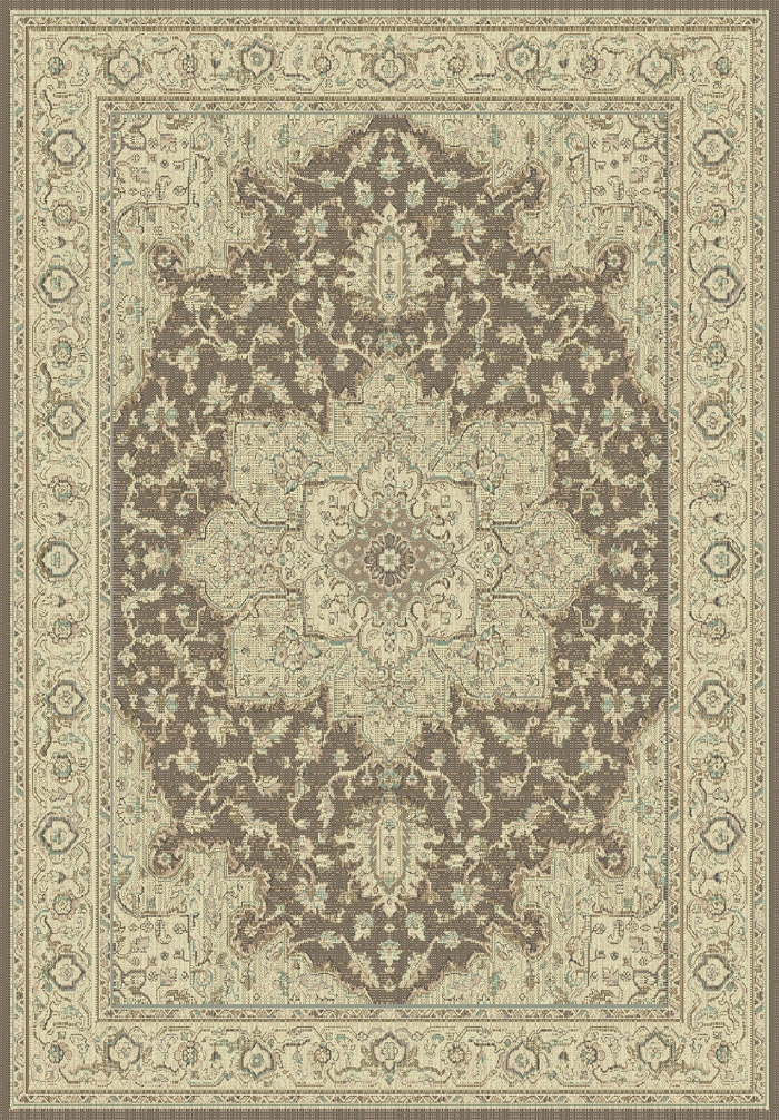 Imperial 622 601 Brown Cream Rug by Dynamic