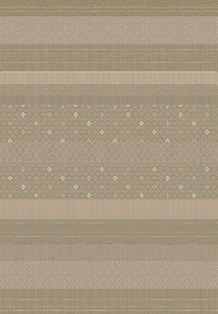 Imperial 623 200 Taupe Multi Rug by Dynamic