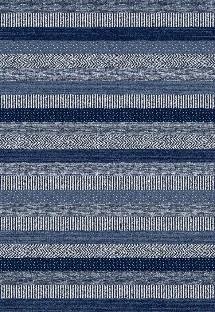 Infinity 32743 5237 Blue Rug by Dynamic