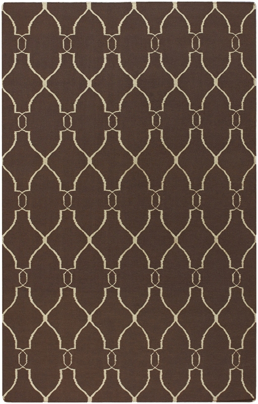 Fallon FAL-1000 Brown Ivory Rug by Surya