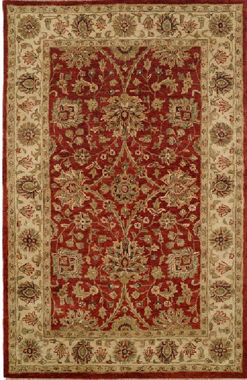 Empire EM-281 Red Ivory Rug by Kalaty