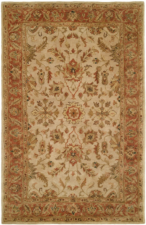 Empire EM-282 Ivory Rust Rug by Kalaty