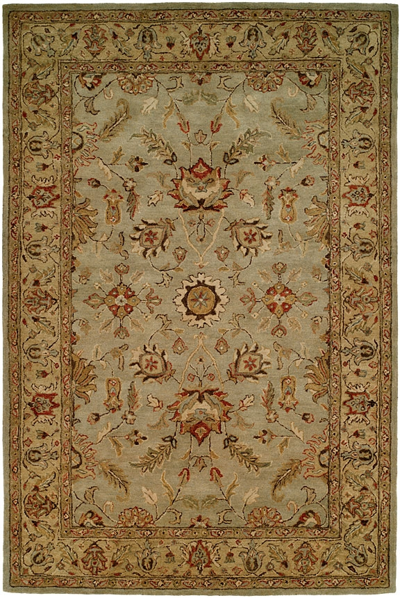 Empire EM-288 Light Blue Gold Rug by Kalaty