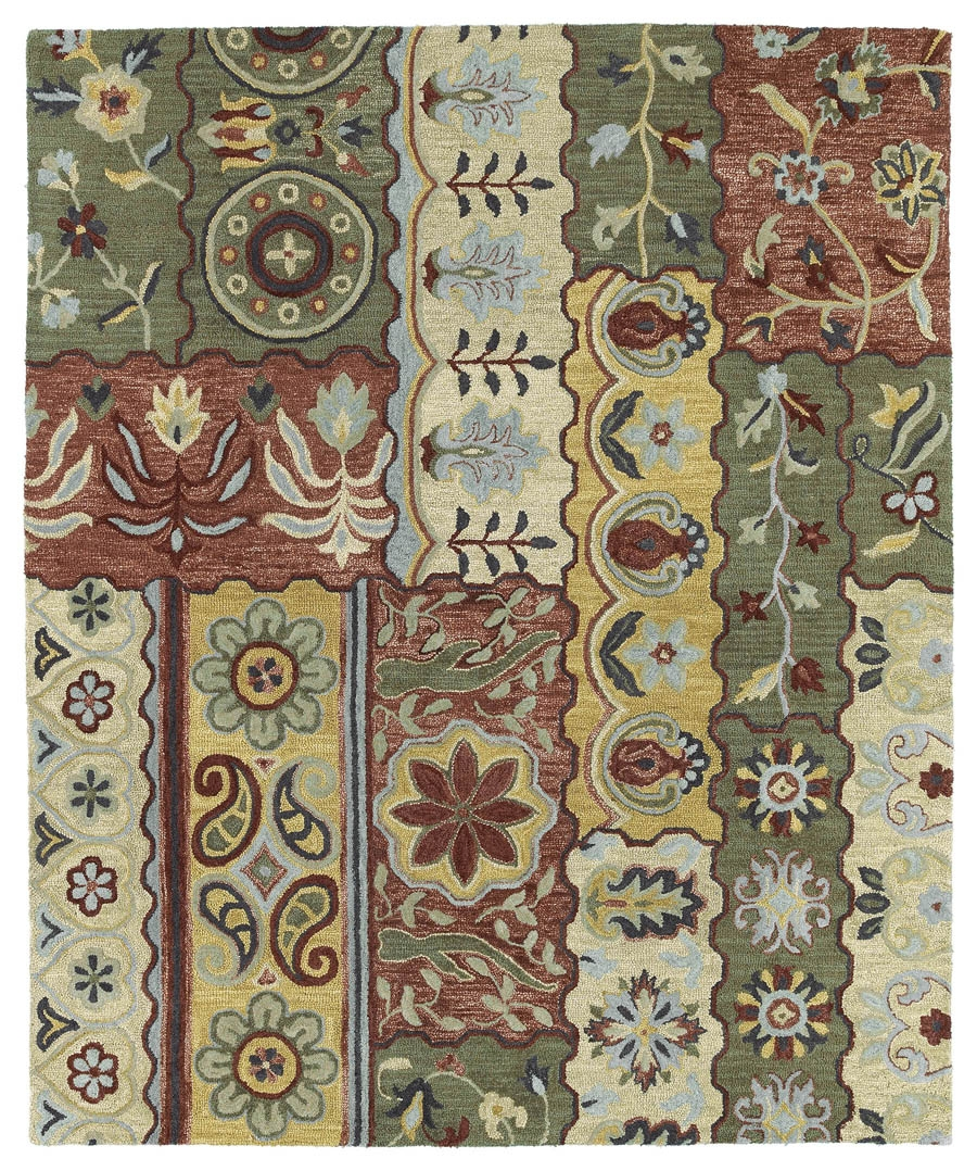 Kaleen Brooklyn Lizbeth 5300 05 Gold Rug