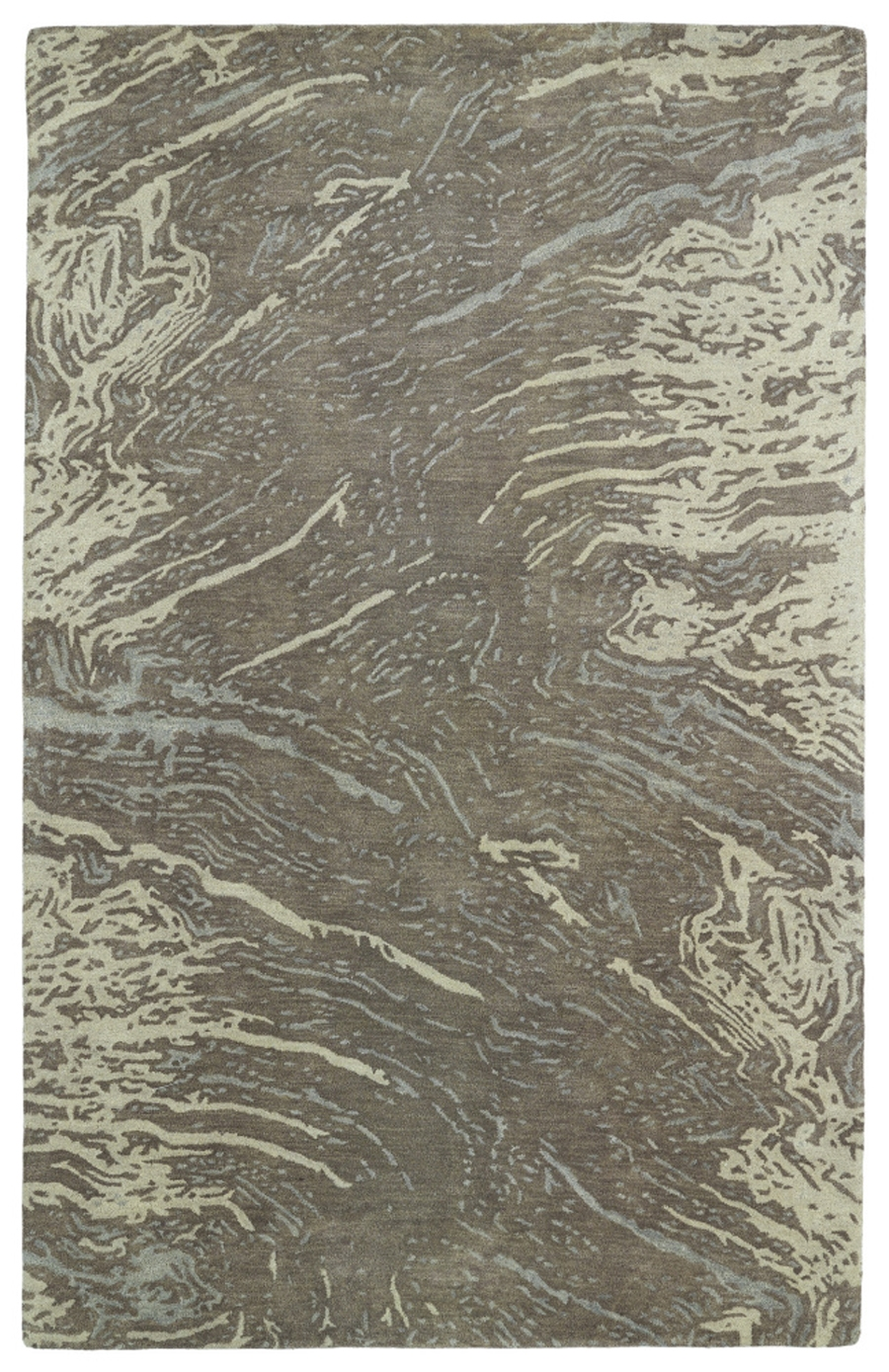 Kaleen Brushstrokes BRS01 49 Brown Area Rug