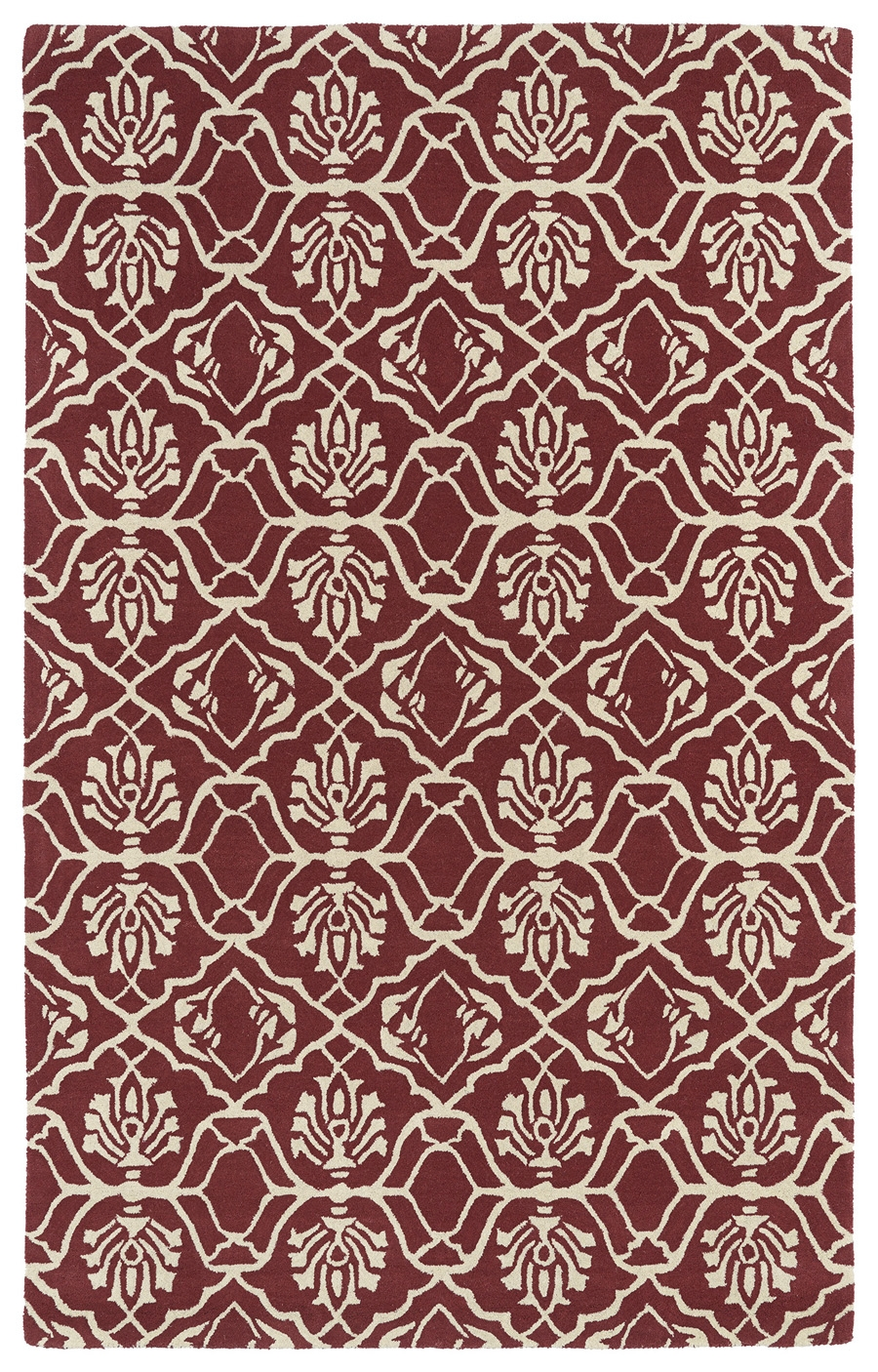 Kaleen Evolution EVL01 93 Berry Rug
