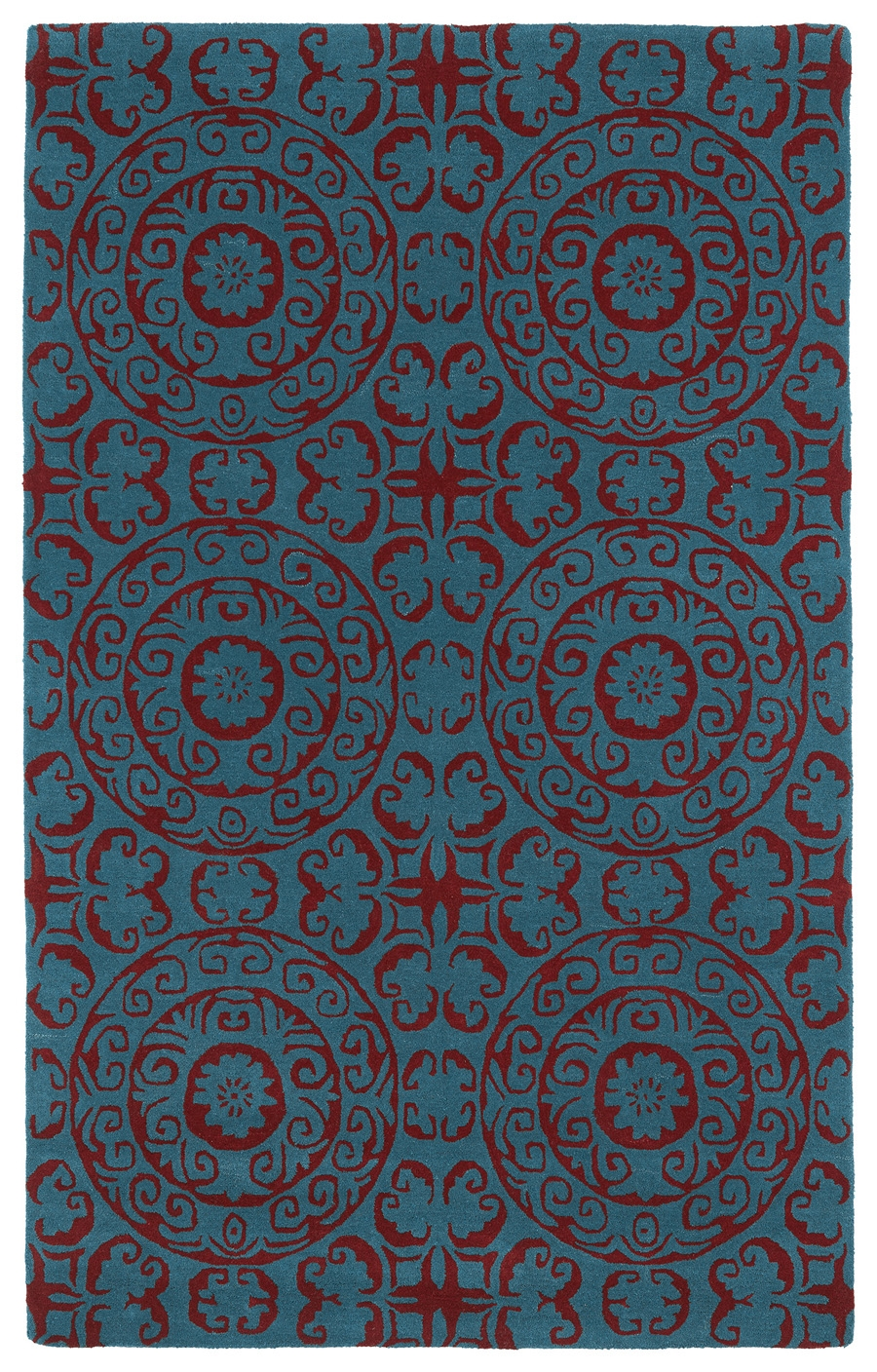 Kaleen Evolution EVL03 94 Peacock Rug