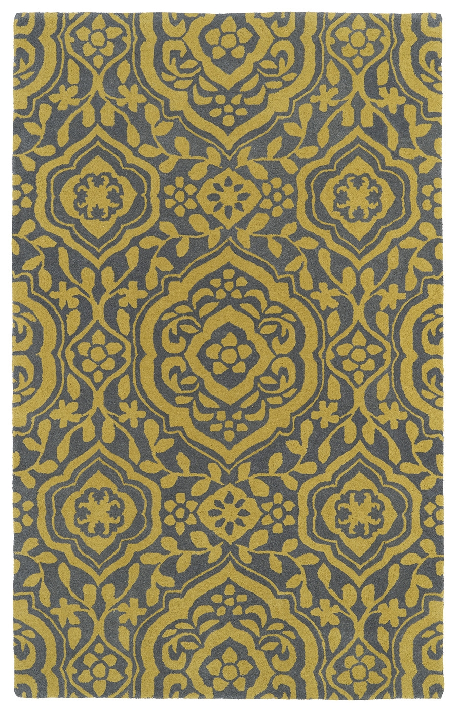 Kaleen Evolution EVL04 28 Yellow Rug