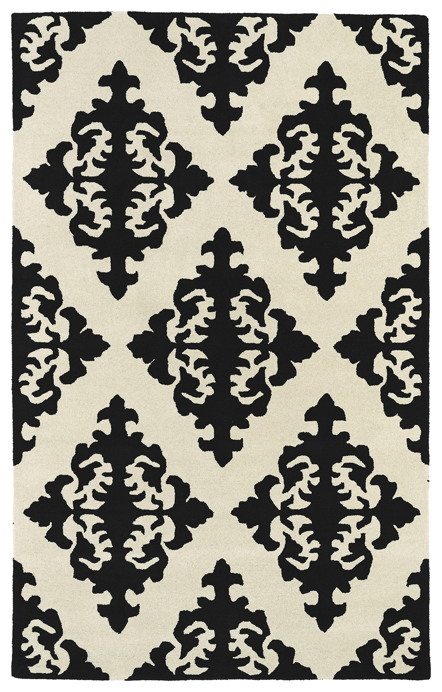 Kaleen Evolution EVL05 02 Black Rug