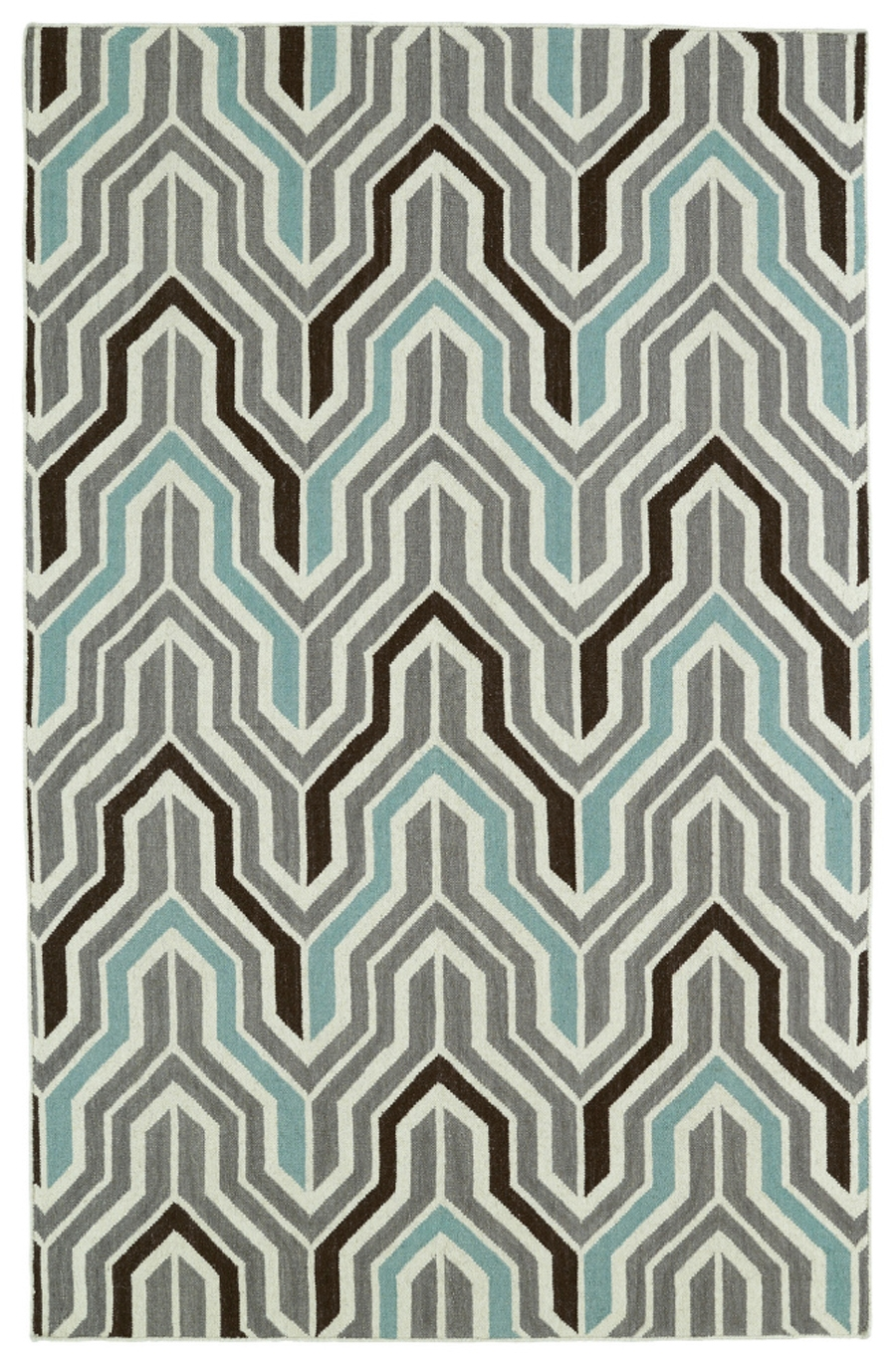 Kaleen Glam GLA03 75 Grey Area Rug