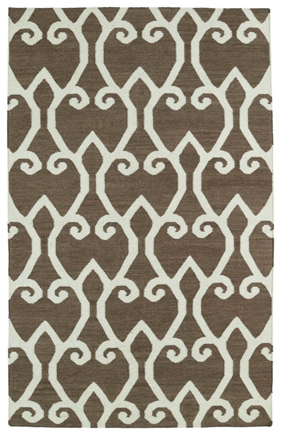 Kaleen Glam GLA05 49 Brown Area Rug