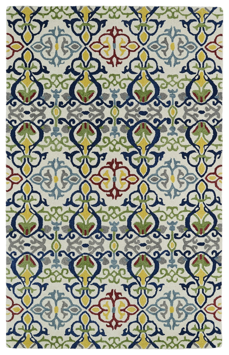 Kaleen Global Inspirations GLB05 86 Multi Area Rug