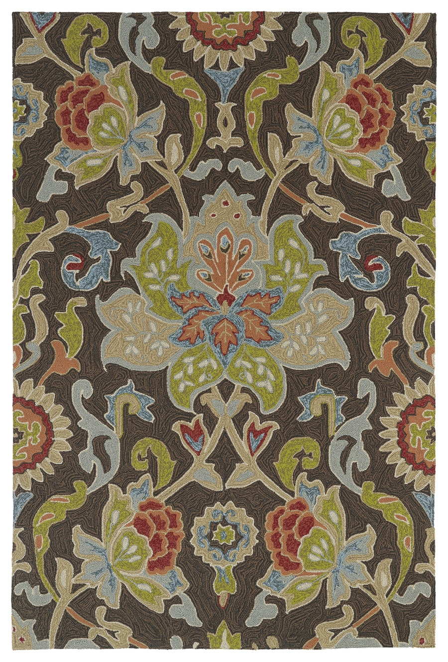 Kaleen Home And Porch 2042 40 Chocolate Rug