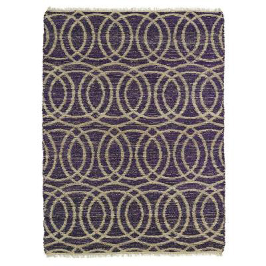 Kaleen Kenwood KEN03 95 Purple Area Rug