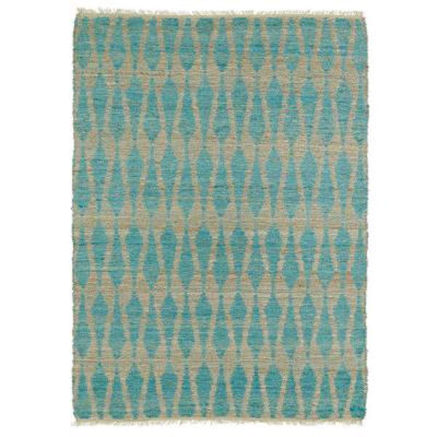 Kaleen Kenwood KEN04 91 Teal Area Rug