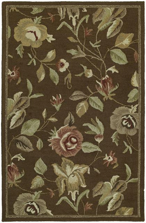 Khazana 6557 Savannah Chocolate 40 Rug by Kaleen