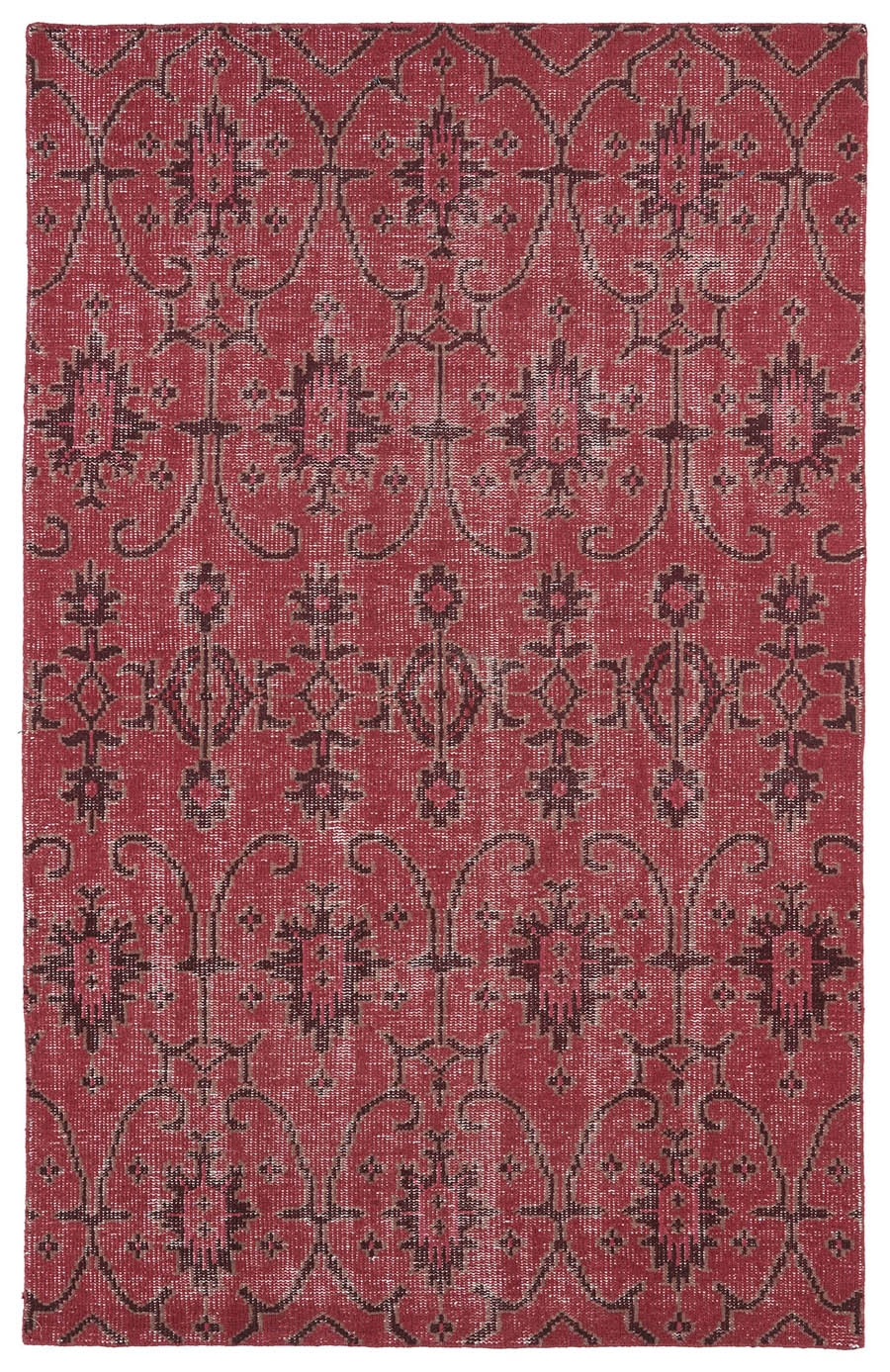 Kaleen Restoration RES01 25 Red Rug