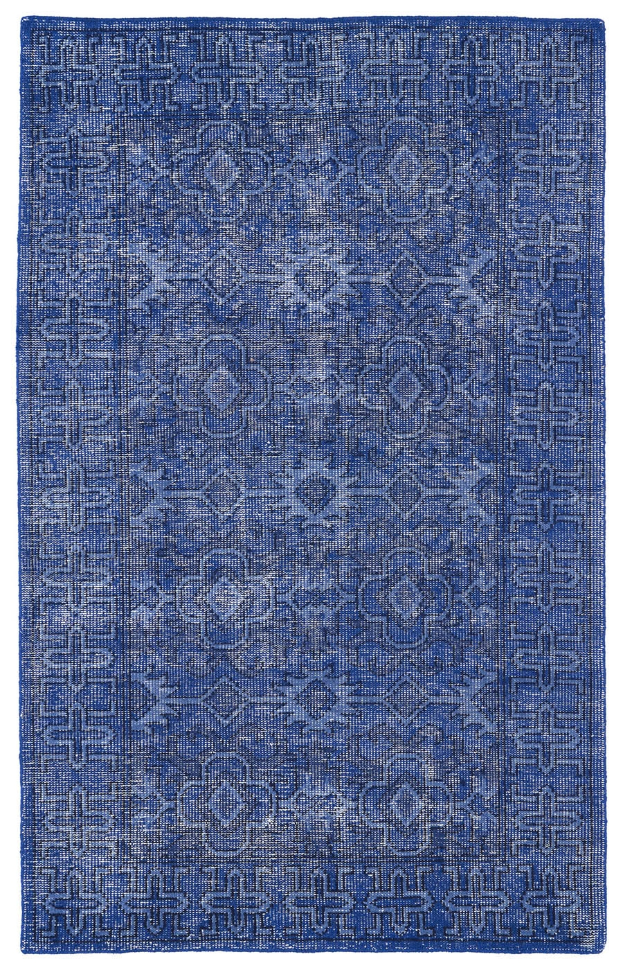 Kaleen Restoration RES04 17 Blue Rug