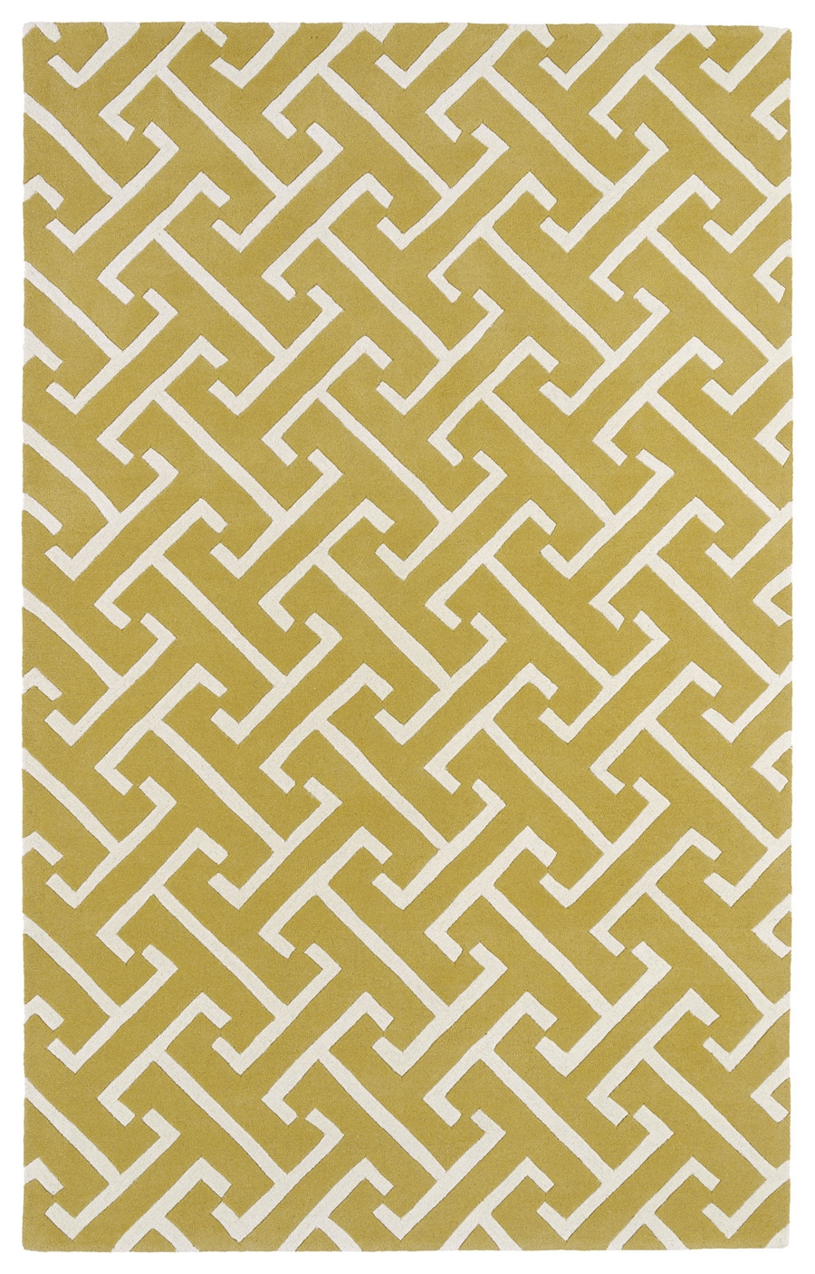 Kaleen Revolution REV04 28 Yellow Rug
