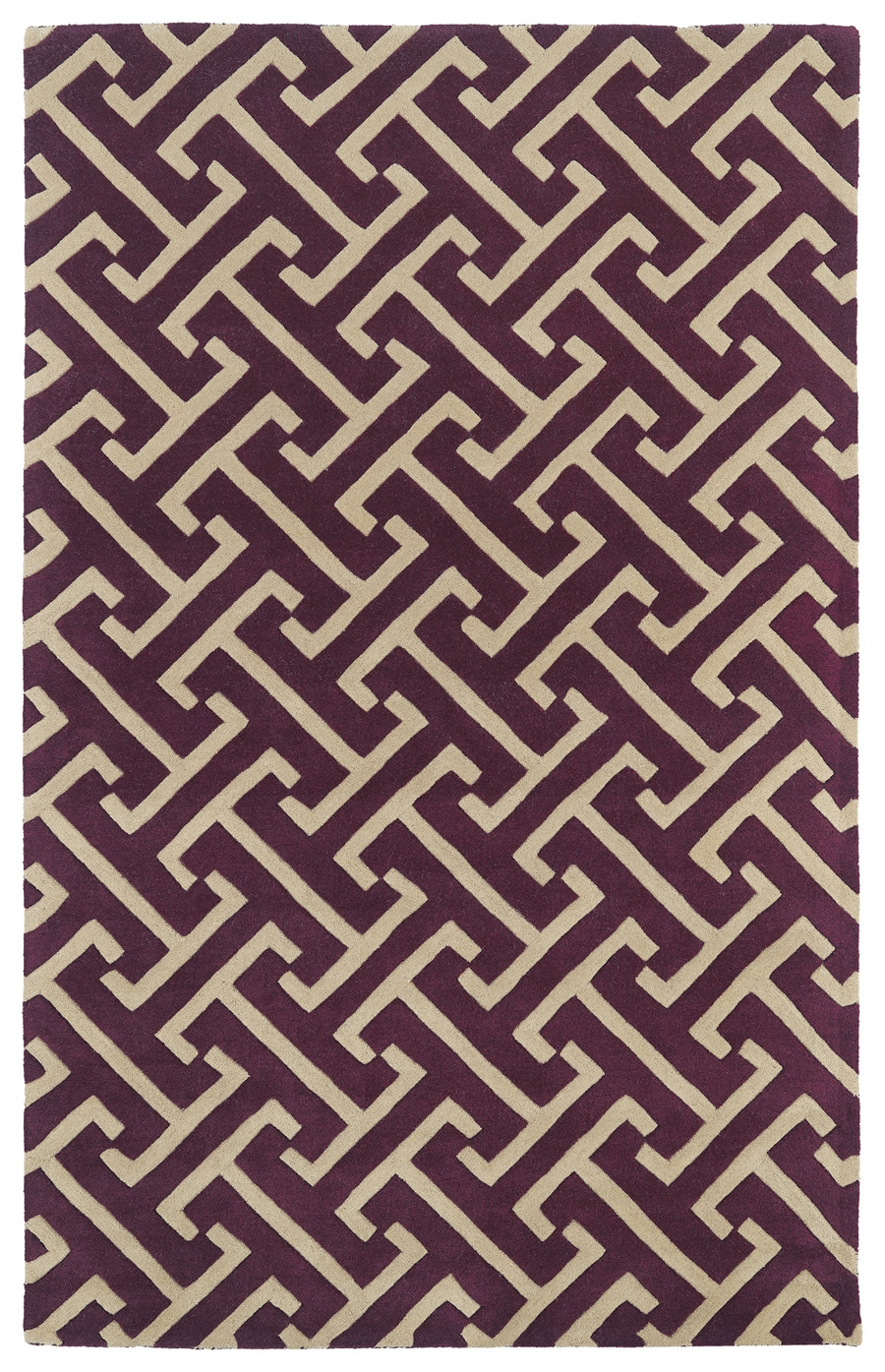 Kaleen Revolution REV04 87 Plum Rug