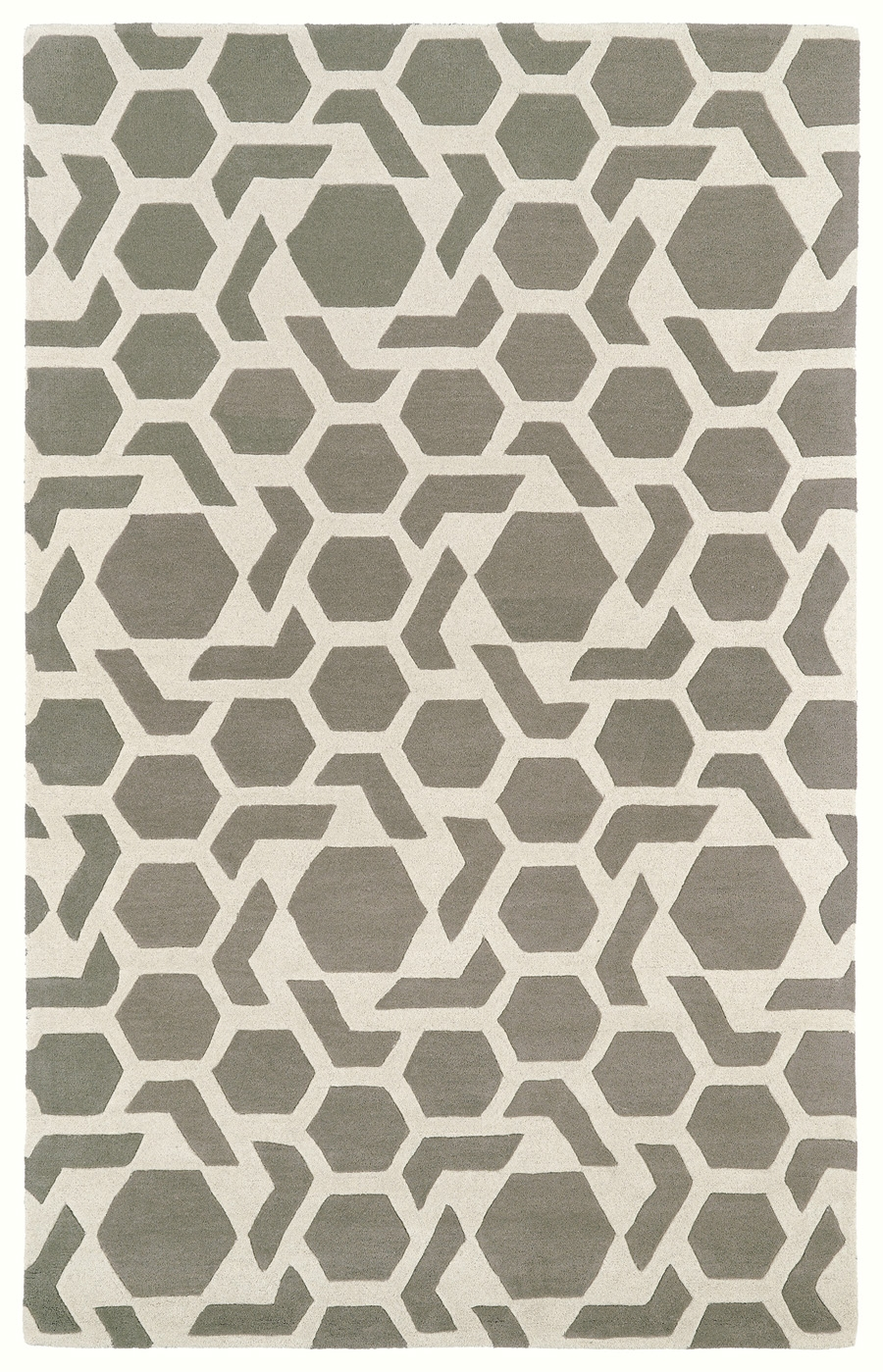Kaleen Revolution REV05 75 Grey Rug