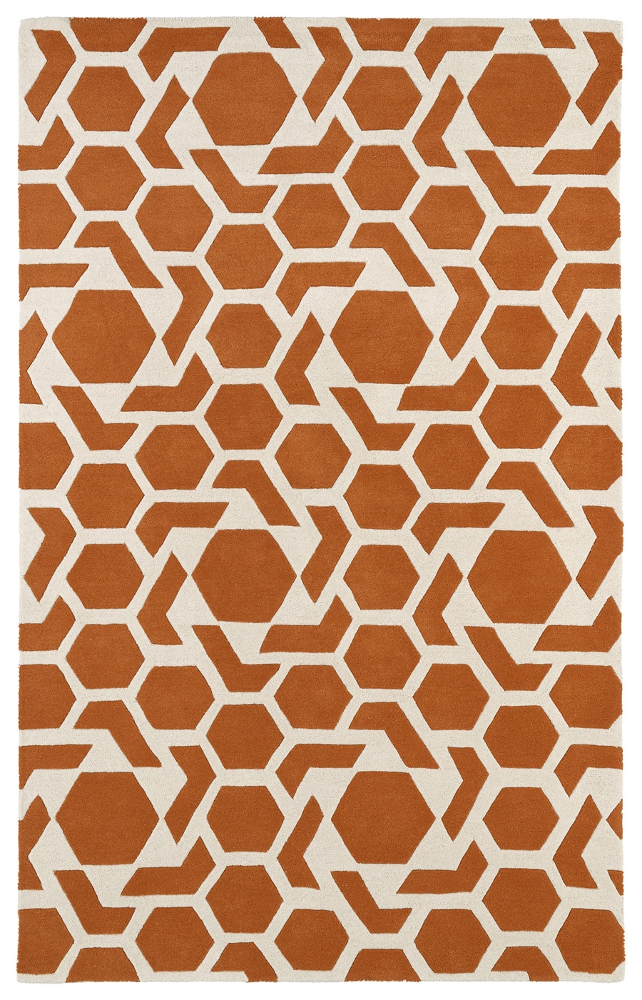 Kaleen Revolution REV05 89 Orange Rug