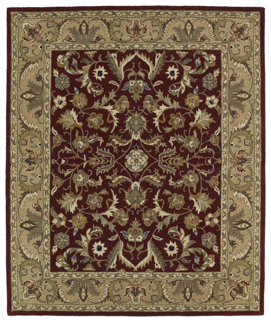 Kaleen Taj TAJ04 25 Red Area Rug