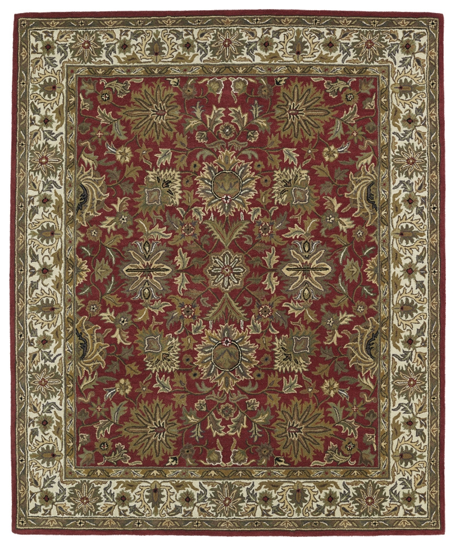 Kaleen Taj TAJ05 25 Red Area Rug