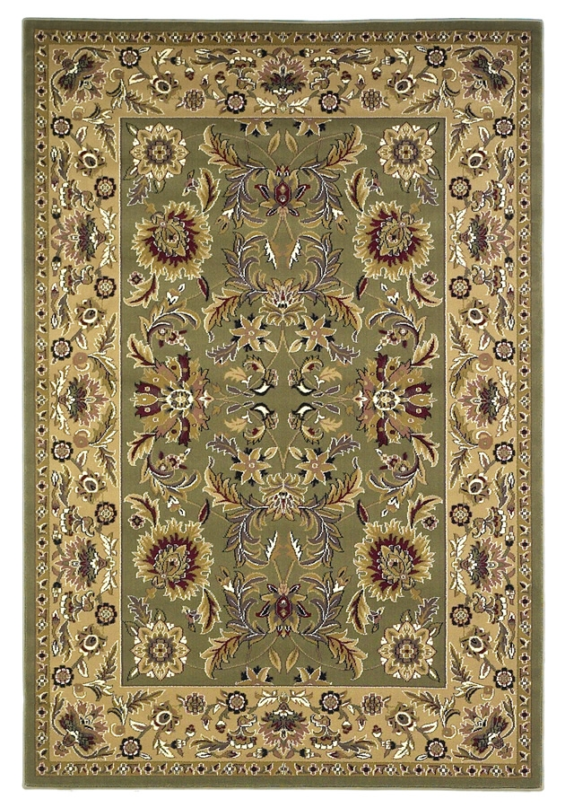 Cambridge 7304 Green/Taupe Rug by Kas