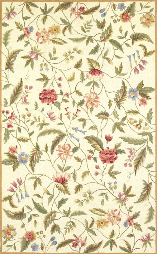 Colonial Springtime Views 1783 Ivory Rug by Kas