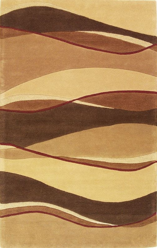 Eternity Landscapes 1074 Earthtone Rug by Kas
