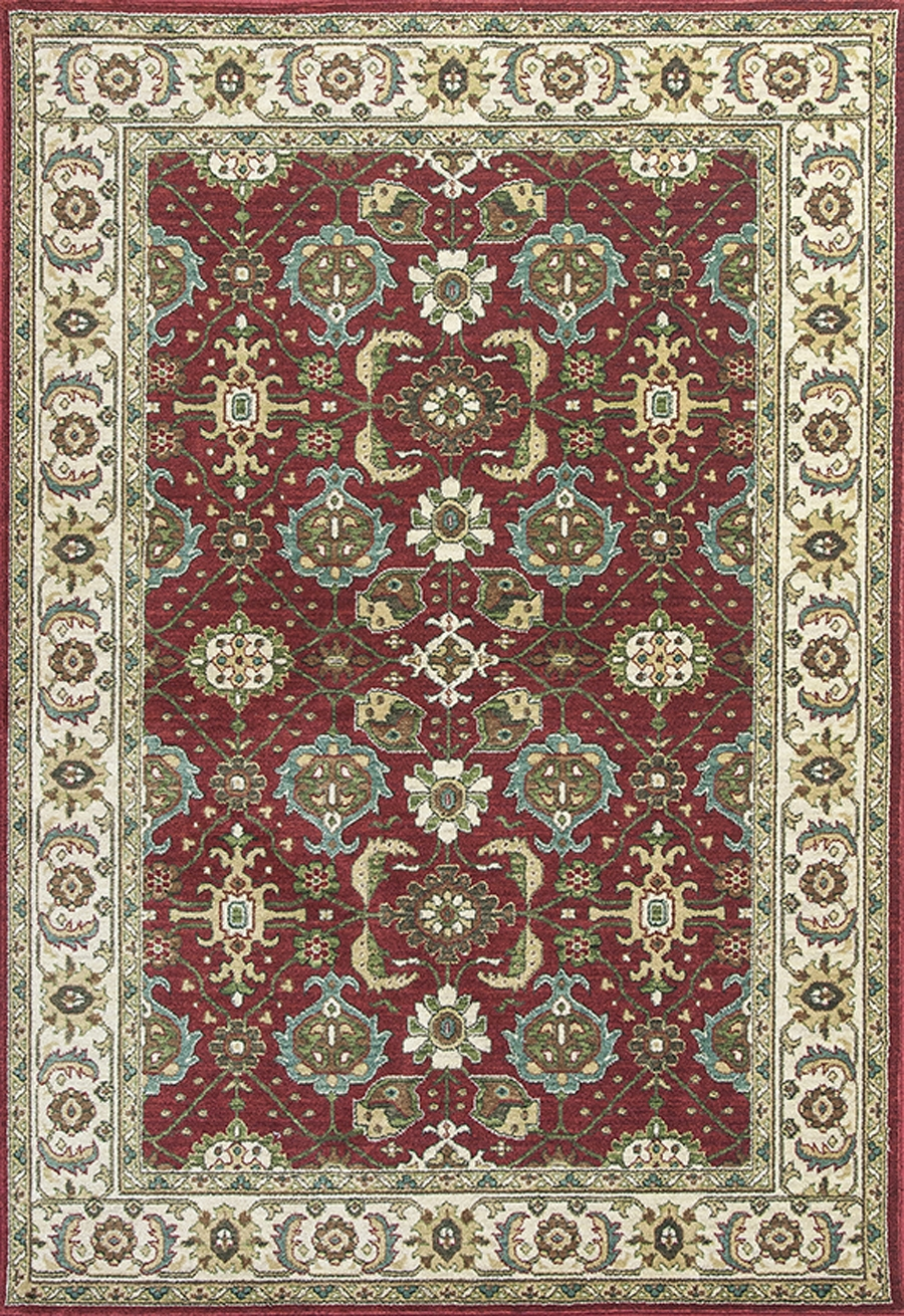 Kas Shiraz 5007 Red Ivory Mahal Rug