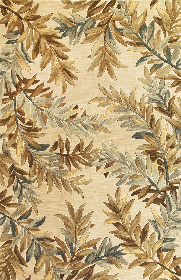 Sparta Tropical Branches 3126 Ivory Rug by Kas