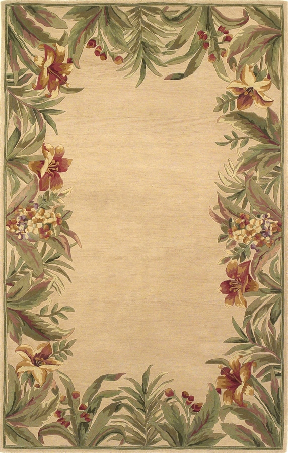 Sparta Rainforest 3151 Ivory Rug by Kas